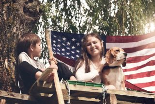 Fourth of July Pet Safety is important to consider if your pet is scared of fireworks